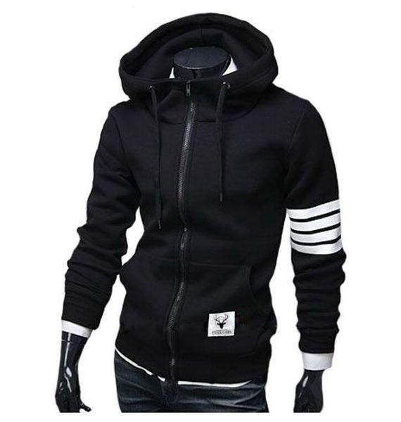 Von Slim Outdoor Brushed Baseball Shirt sports Sweatshirt Großhandel Herren Cardigan Hoodie Sweater Jacke Designer Casual OPiuZTkX