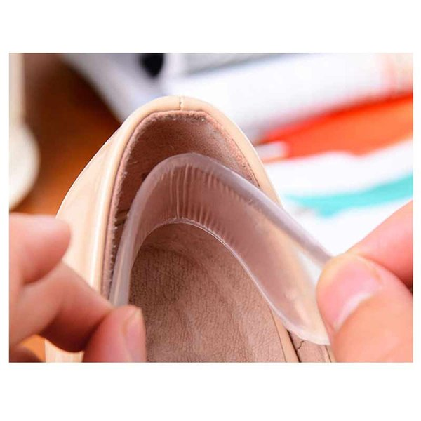 10Pair Women Strip Heel Stick Massage Pedicure Foot Care Insoles Inserts For Shoes Liner Silicone Gel Pads For Feet Protector