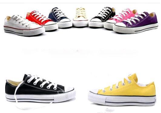 15 color size 35-44 new 2018 drop shipping women men unisex men sneakers women sneakers for women and canvas shoes