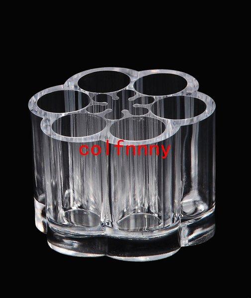 50pcs / lot liberano il trasporto 5ml mini rotolo sulle bottiglie di vetro olio essenziale del metallo del rullo della sfera Fragranza bottiglia di profumo riutilizzabile