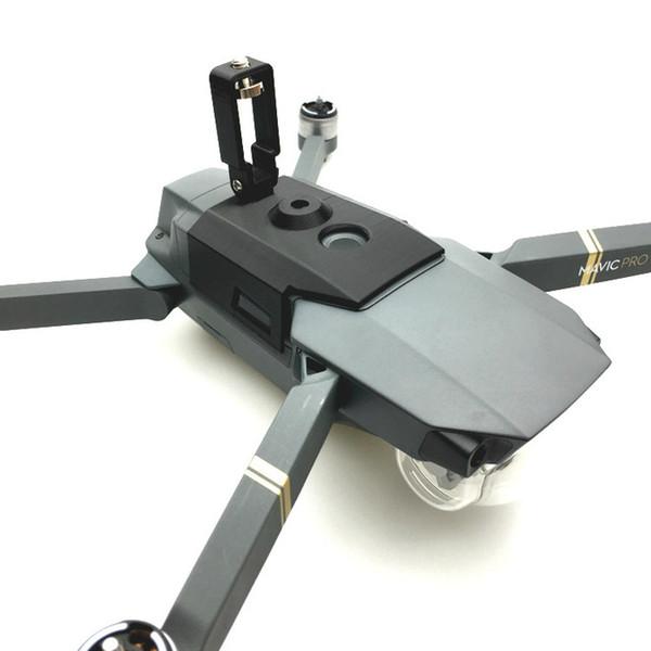 For DJI Mavic Pro Accessories 360 Degree VR Camera Mount Bracket Upper Holder for Gopro Hero 5 Action Camera Accessories