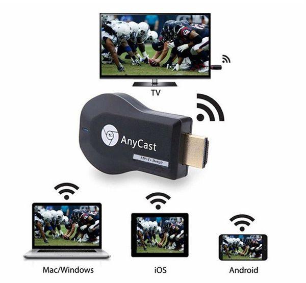 Медиаплеер AnyCast M2 Plus HDMI адаптер