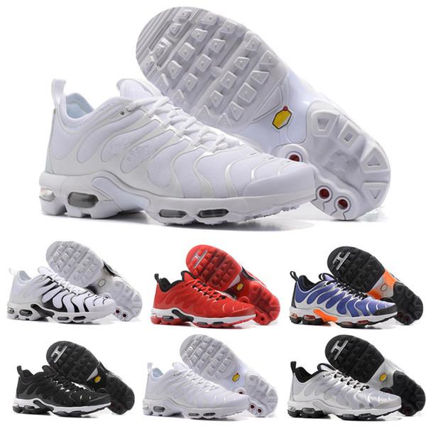 Bleached Aqua TN Plus Grape triple White black Silver Hyper Violet Colorways Shoes Men women running Shoes trainers sports sneakers