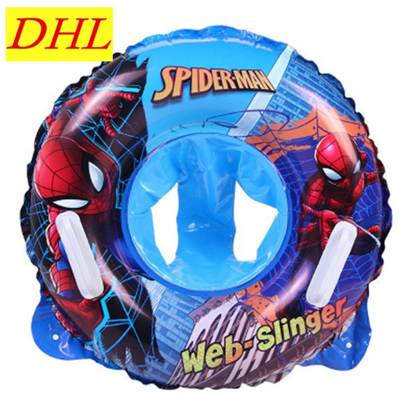 Wholesale 100pcs/lot The Superhero Inflatable 60CM Children Swimming Ring WATER PARK Housing Washer G1640