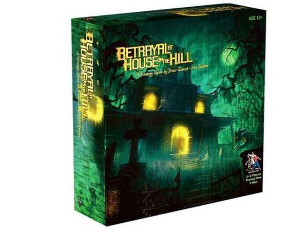 2018 New Betrayal At House On The Hill Mountain House Cry English Board Game cards free shipping