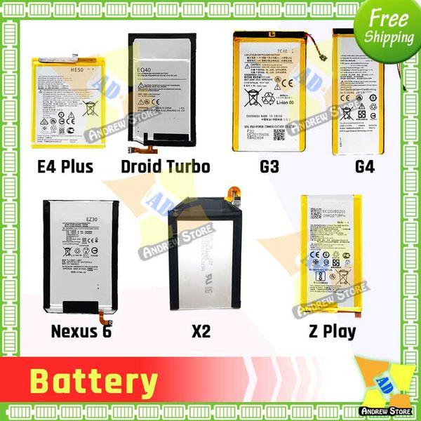 Good Quality Battery for Motorola moto G G2 XT1028 G3 FC40 EY30 XT1097 EX34 XT1053 EQ40 Droid Turbo XT1225 Batteries Replacement