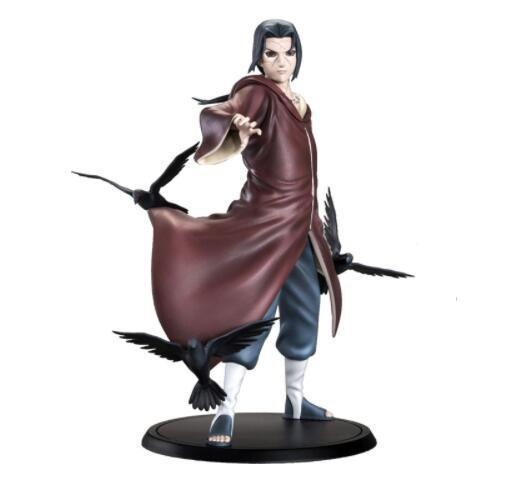 Naruto Uchiha Itachi 1/8 Scale Painted Figure Uchiha Itachi Brinquedos Anime PVC Action Figure Collectible Model Toy 17cm