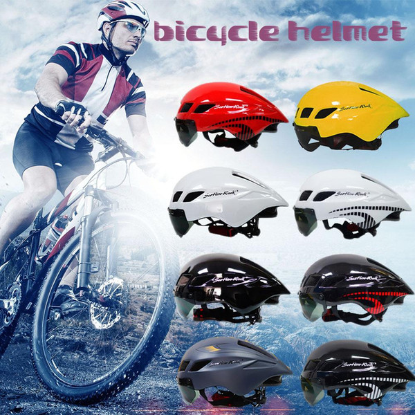 Men Road Bicycle Helmet Ultralight Breathable Mountain Bike Cycling Helmet Areo Cool Bike Sports Cycling Protected Equipment