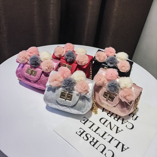 New Kids Handbags Fashion Designer Kids Mini Purse Shoulder Bags Teenager Girls Messenger Bags Cute Christmas Gifts For Little Girls A9941