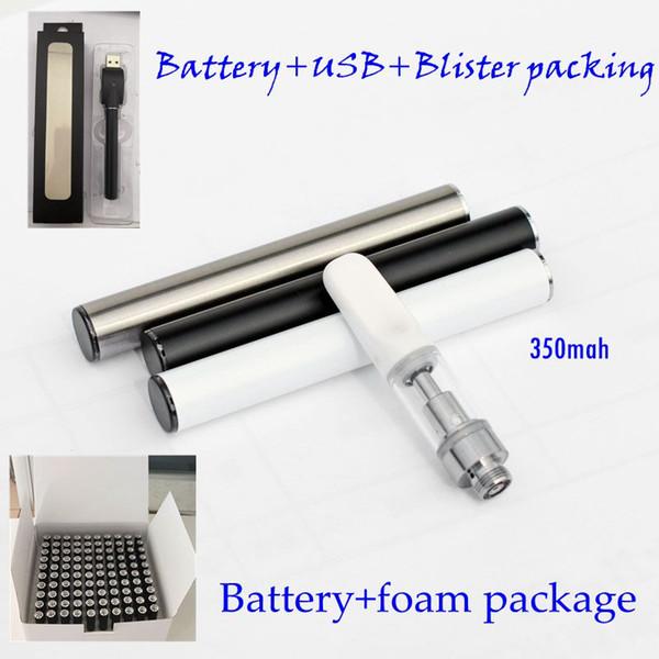 Batteria automatica da 350 mAh Vape a batteria 510 thread battery per cartucce a penna Vaporizzatore e batterie per atomizzatori cig online