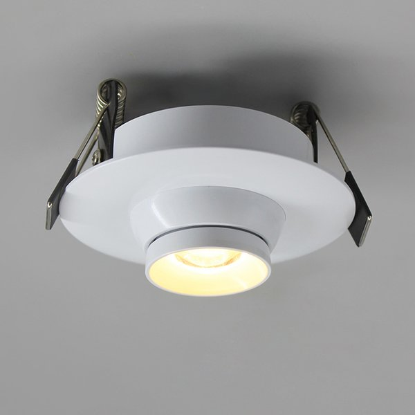 Faretti Spot Led.2019 Wholesale Focos Led Techo Modern Living Light Faretti Da Incasso Foco Techo Recessed Led Adjustable Ceiling Spot Light Faretto From