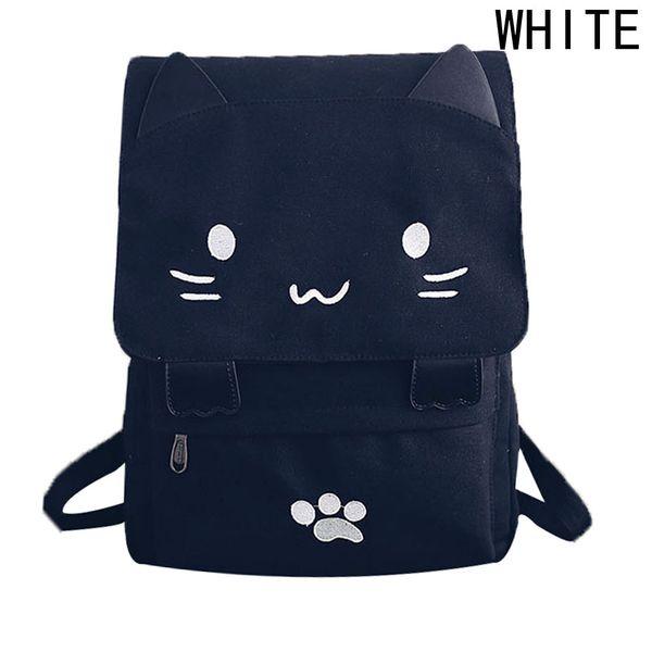 Cat Printing Cute Women Backbag School Bagpack School Laptop Backpack For Girls Students Children`s Animal Backpacks