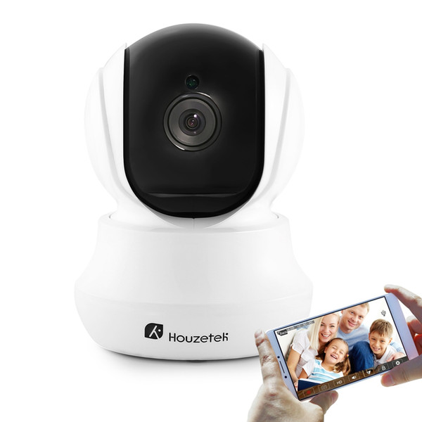 Houzetek IP Camera Indoor wireless cctv camera shenzhen IR dome ip security camera 720P hd pt onvif