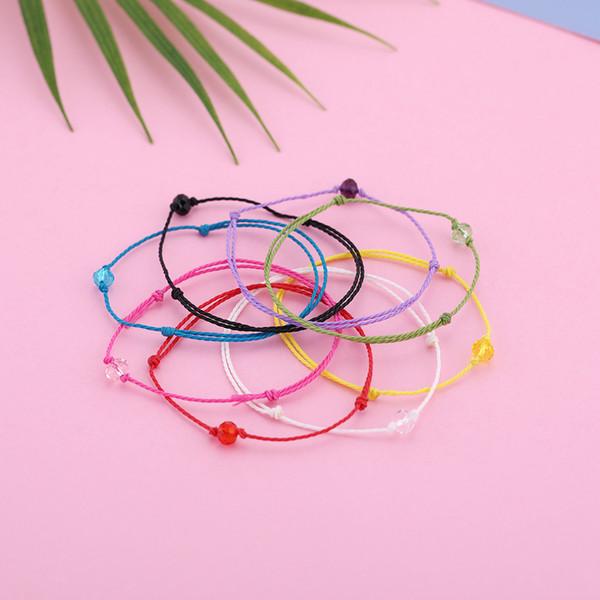 Skyrim Fashion Bead Charm Simple Bracelets Adjustable Rope String Bracelet for Men Women Fashion Colorful Jewelry Gift
