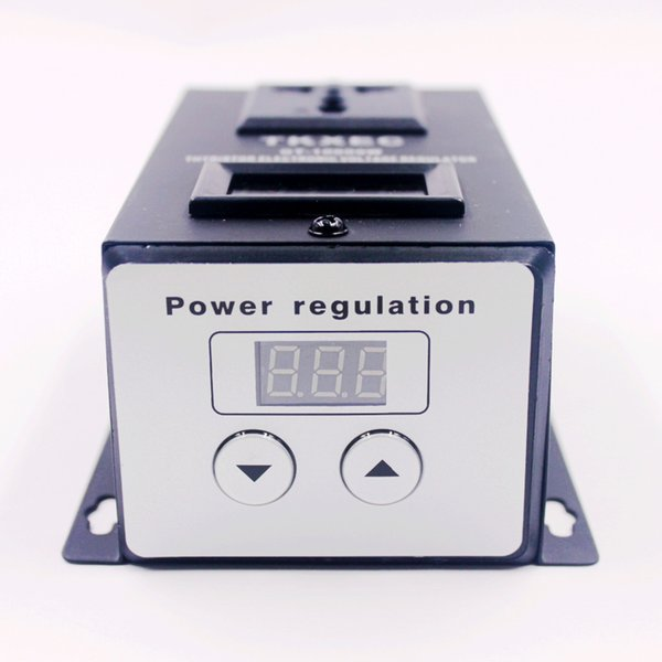 hot sale AC 220V 10000W SCR Electronic Voltage Regulator Temperature Speed Adjust Controller Dimming Dimmer Thermostat