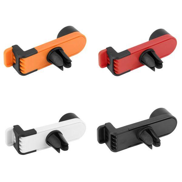 Sostenedor del coche de la manera para el iPhone Teléfono portátil universal Soporte de soporte del soporte de la suspensión del aire del coche de GPS MP4 Soporte de la horquilla