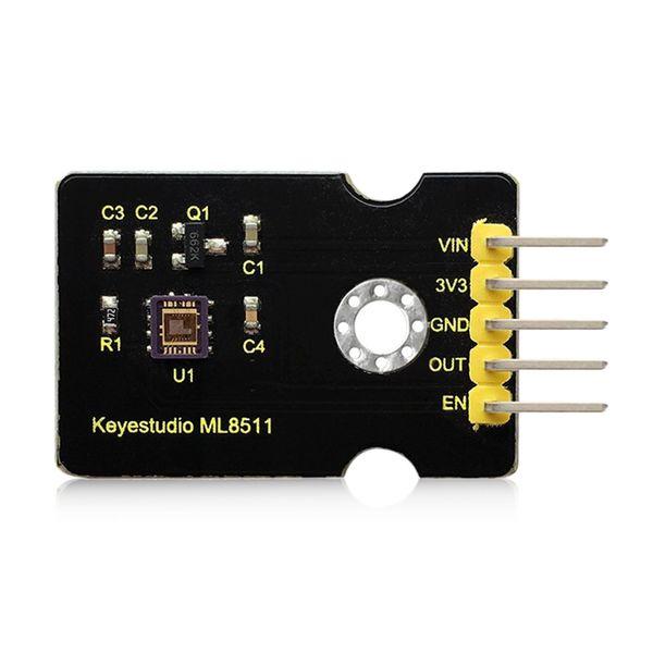 Keyestudio ML8511 Ultraviolett-Sensor-Modul Board für Arduino direkt an den eingebauten MCU Digital-und Analog-Wandler ohne ph angeschlossen