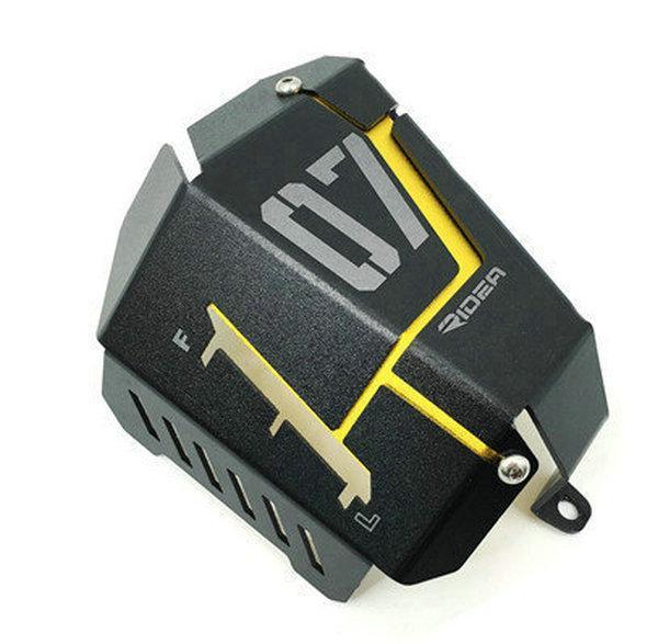 Protezione radiatore della protezione della griglia laterale del radiatore del motociclo protettiva per la copertura del serbatoio dell'acqua di Yamaha MT07 MT-07 13-15