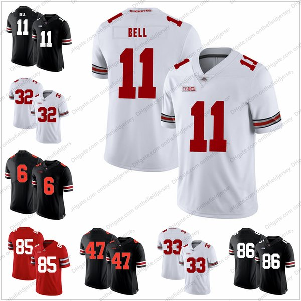 promo code 7e3a0 0fcda 2018 Ohio State Buckeyes 11 Vonn Bell 32 Jack Tatum 47 Aj Hawk 33 James  Laurinaitis 6 Brian Snead 86 Dre'Mont Jones College Football Jersey S 3xl  From ...