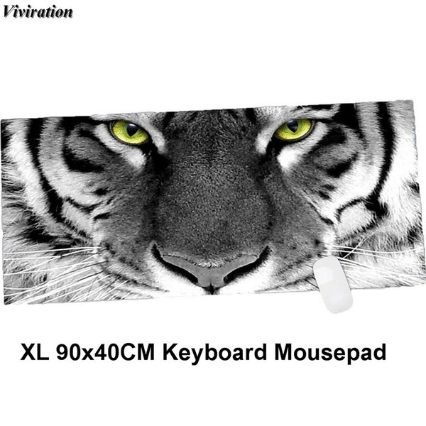 Rubber Mouse Keyboard Mat Viviration 900x400mm Big Gaming Mouse Pad Mat For World of /Steelseries/Dota 2/Lol/Csgo