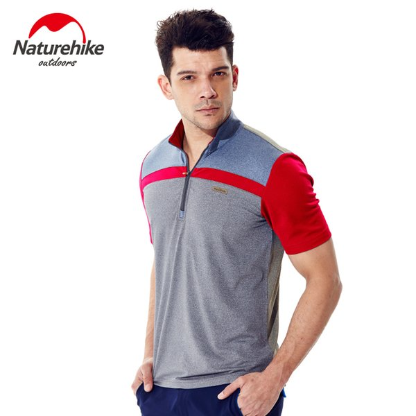 Naturehike hiking shirts compression shirt Outdoor quick dry mountaineering camping t - shirts Summer Men tee tops clothing