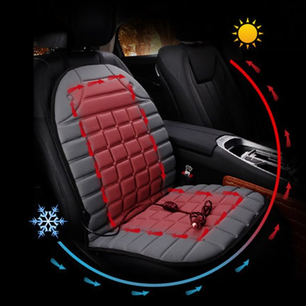 Heater Pads 12v Winter Warm Auto Single 12V Electric Heated Cushions For Winter Heating Auto Seat Covers Cushion Keep Warm Car Seat Cover