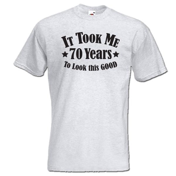 Acquista Mi Ci Sono Voluti 70 Anni Guardare Questo Buono T Shirt Da Uomo Donna 70 Compleanno Anno 1948 Divertente Spedizione Gratuita Unisex Casual