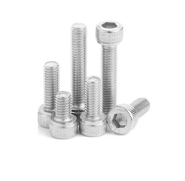 top popular New 500Pcs M2 M2.5 DIN912 304 Stainless Steel Hexagon Socket Head Cap Screws Hex Socket Screw Metric Bike Screw 2021