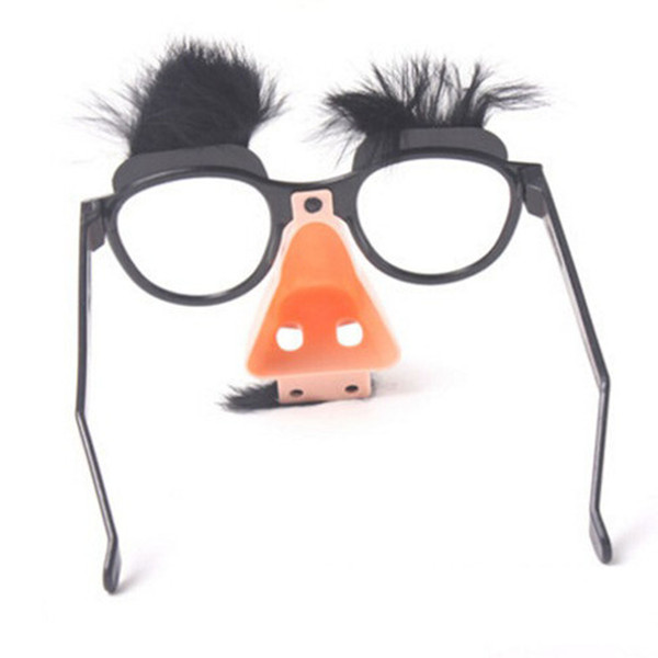 Lovely Mustache Fake Nose Selling Simple Beautiful Beauty Gift Trendy Design Newest Perfect Individual Party Glasses