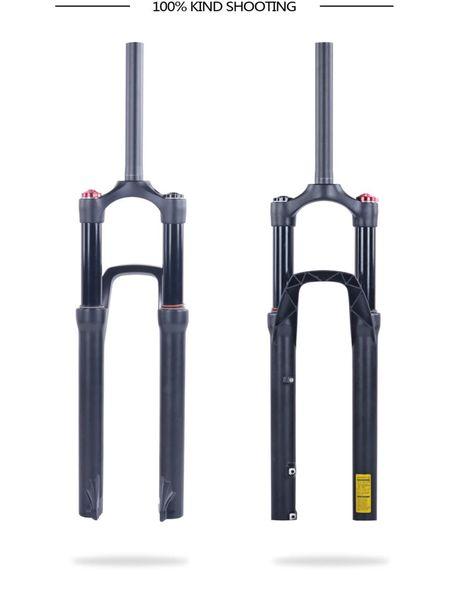 Aluminum alloy bicycle fork 29er 27.5er QR not carbon mtb fork 29 rigid carbon fork full suspension for carbon bicycle