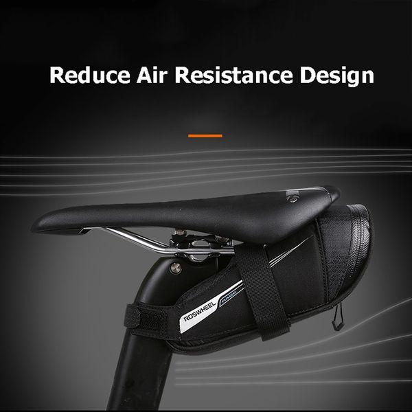Bicycle Saddle Bag Tear Resistant Rainproof Cycling Rear Seat Bags MTB Road Bike Tail Repair Tools Pouch Bike Accessories BG0090
