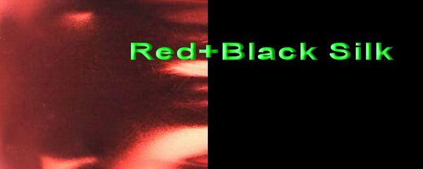Red+Black Silk