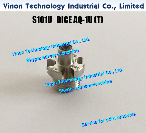 d=0.155mm edm DICE AQ-1U(T) S101U J17104A, Upper Wire Guide AQ-1U(T) 0.155mm for AL series CNC Wire-CUT edm machine edm spare parts