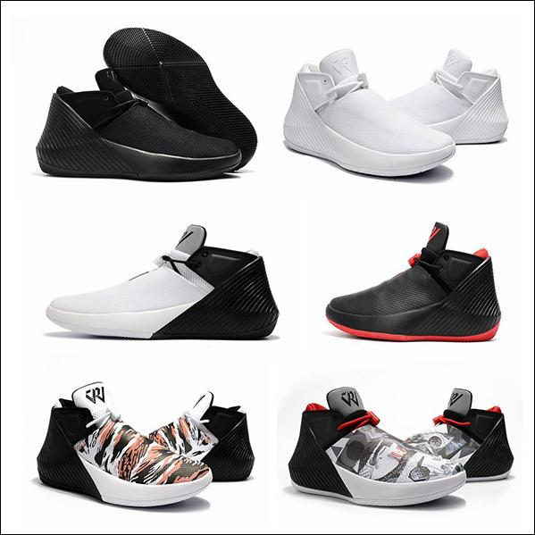 Russell Westbrook Why Not Zer0.1 George Adams Mirror Image North Carolina casaul Shoes Black White Grey All star Grey casual shoes