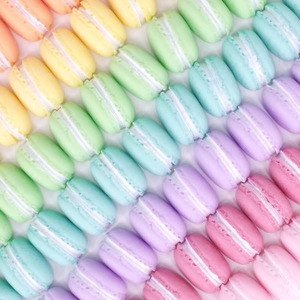 imán del refrigerador de Macaron del color imanes de nevera creativos de la historieta pegatinas imán de neodimio muy fuerte Mensaje de la oficina photo