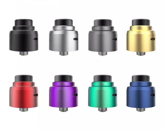 Authentic Coilart Dpro Mini RDA Tank Single Coil Postless Deck super easy to build with BF pin & 3 kinds of 510 drip tips
