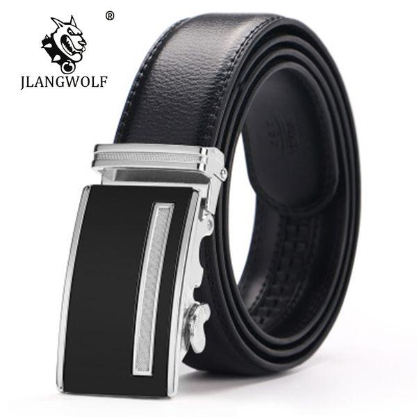 Mens fashion Belt New Designer Automatic Buckle Cowhide Leather men belt genuine leather Mens cinto masculino D022