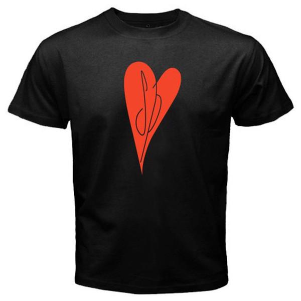 LES POMPONS SMASHING Coeur Logo Punk Rock Band Hommes Noir Haute Qualité Casual Tee Impression