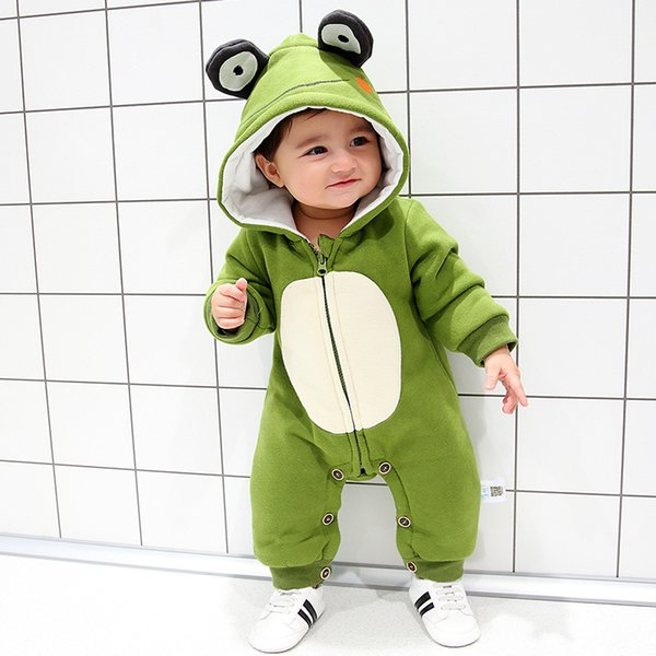 Bebes Bebé Meninas Rompers Baby Boy Ternos Kds Macacões Roupas Outono e Inverno One-peças Roupa ALGODÃO Romper