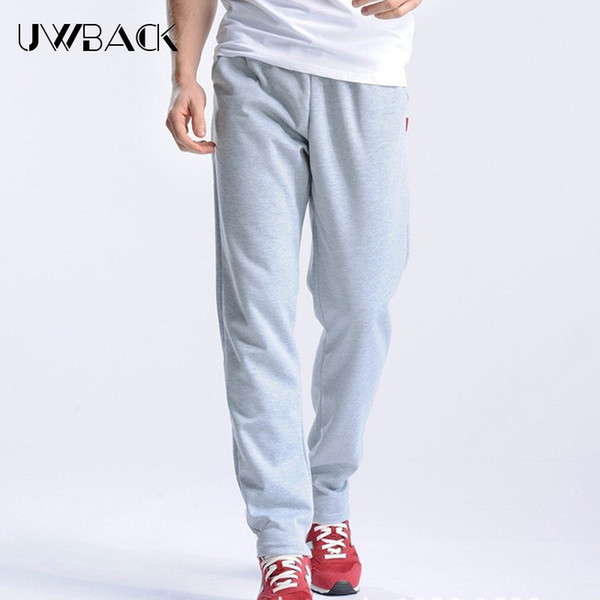 370fe5718a6a Uwback 2018 Spring Sweatpants Men M-4XL Men's Joggers Pants Cotton  Breathable Pantalon Homme Gray