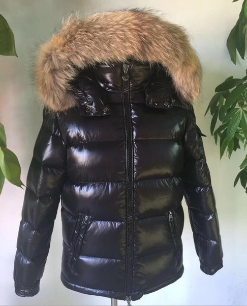 Winter Men Down Jacket New 90% White Goose Down Coat Hooded Real Fur Trim Hood Top quality Brand Clothing Male Down Parkas