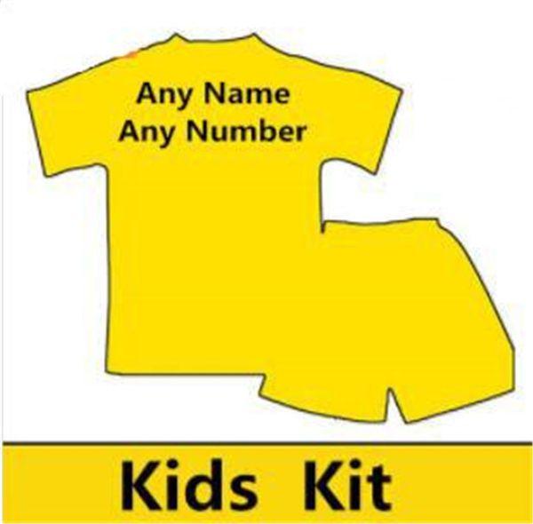 kit para niños con cualquier número de nombre