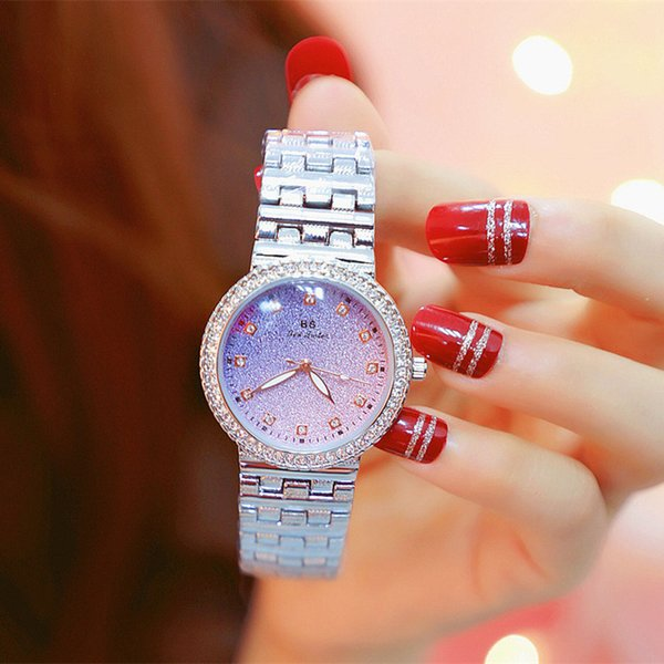BS Watches Full Diamond Watch Singapore Imported Movement Watch Austria Imported Rhinestone Watch FA1551