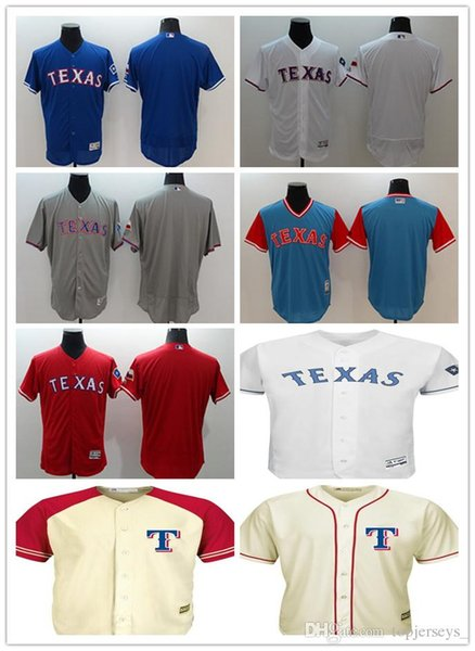 cheap for discount d4a21 00fee 2018 Custom Men Women Youth Texas Rangers Jersey Personalized #00 Any Your  Name And Number Home Blue Red White Grey Baseball Jerseys From ...