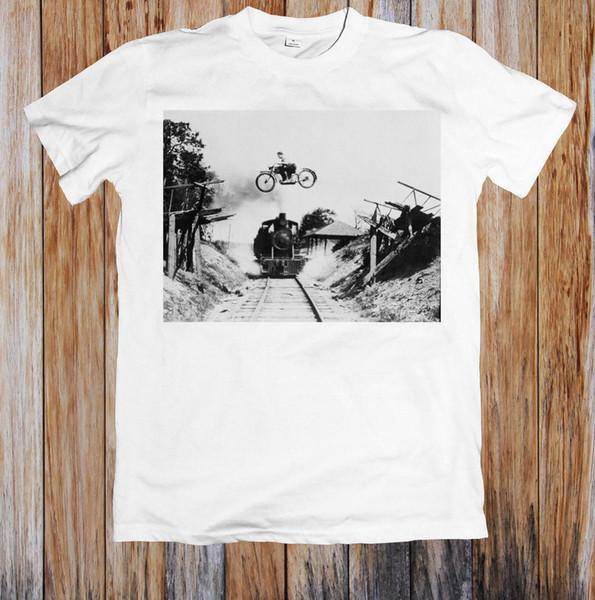 TEHLİKELİ ÇAPRAZ VINTAGE RETRO UNISEX T-SHIRT jurney Baskı t-shirt Serin xxxtentacion tshirt Marka gömlek kot Baskı