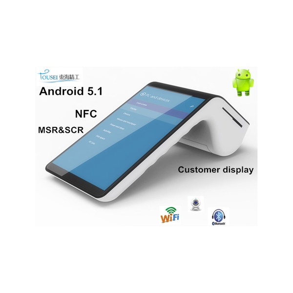 EMV touch screen 4G payment portable smart mobile android terminal 7003