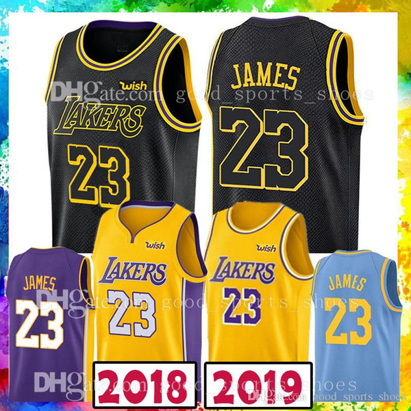 info for 7b38b 53f00 2018 18 19 New 23 Lebron James Basketball Jerseys 2018 2019 Men'S Los  Angeles 77 Luka Doncic 22 Deandre Ayton 2018 New Fashion Mens Polo Shi From  ...