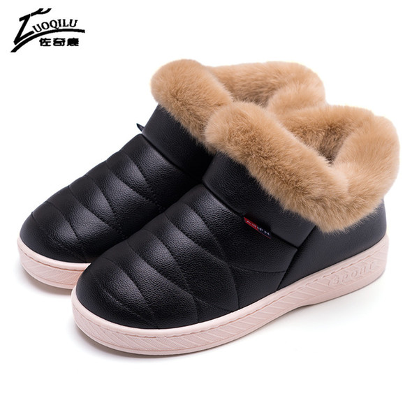 Winter Slippers Women Warm Home Shoes Floor Soft Indoor Slippers Women House Shoes Warm Slippers Winter Shoes 2017