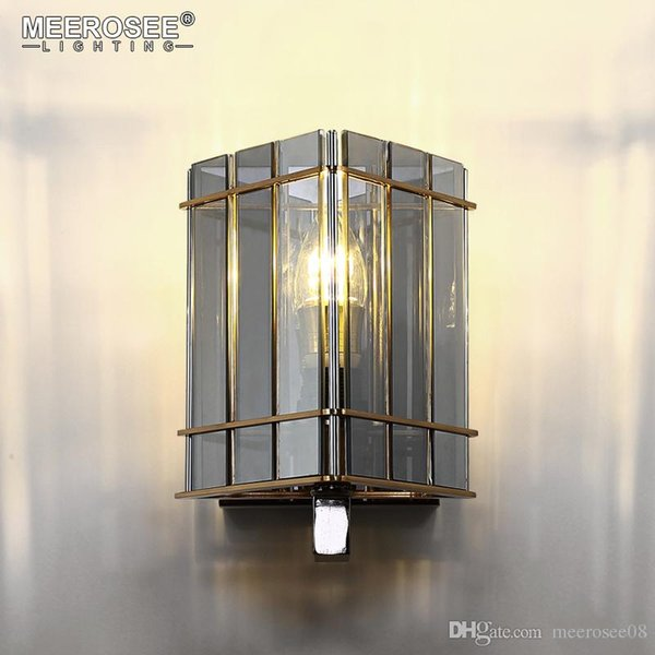 New arrival Wall Lamp Post Style Wall Light Lustres Abajur Sconces Glass Wall Brackets Lighting Living Bedroom
