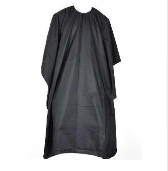 Corte de cabello Peluquería Paño Peluqueros Peluquería Gran salón Adulto Impermeable Cape Gown Wrap Peluquería Negro Cape Gown Wrap